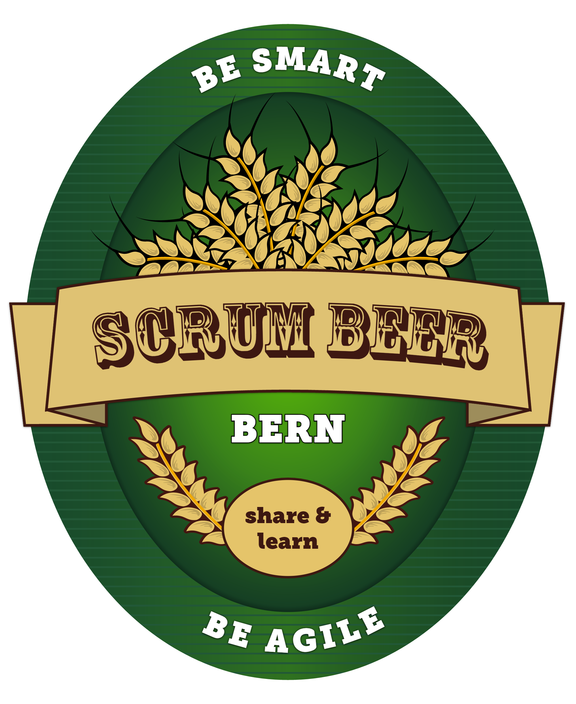 Label Scrum Beer Bern