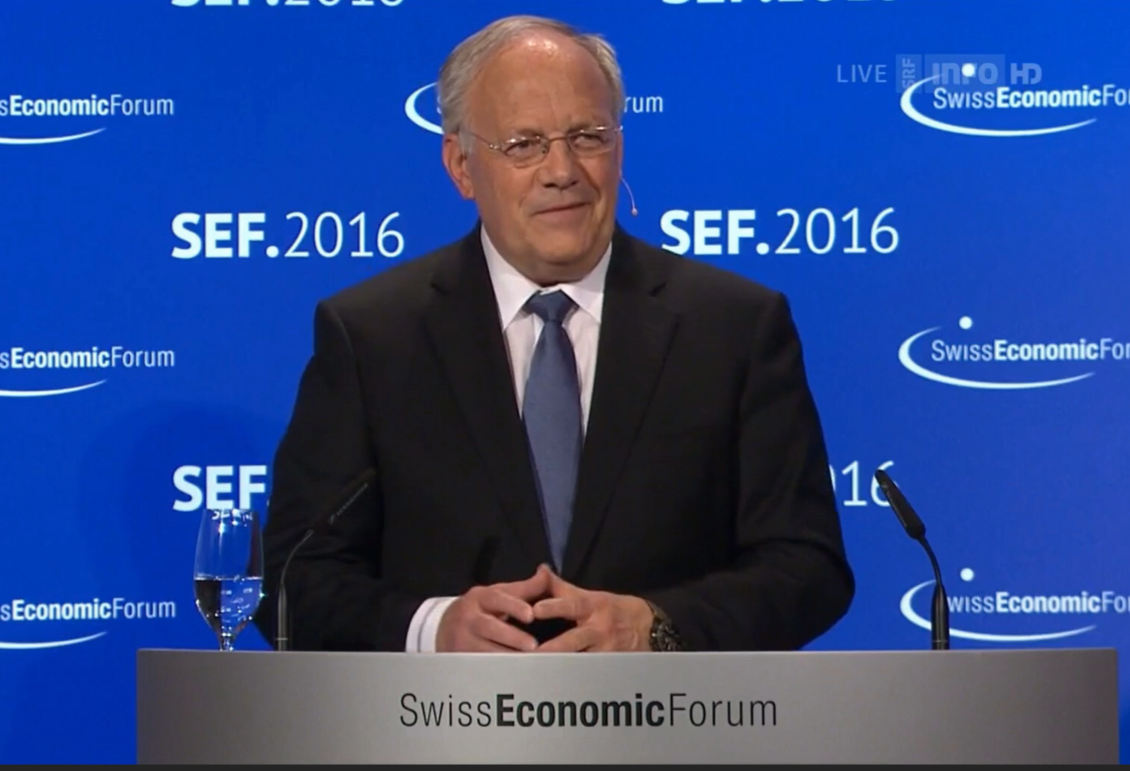 Bundespräsident Johann Schneider-Ammann @SEF2016